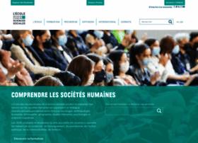 ehess.fr