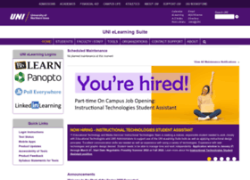 elearning.uni.edu