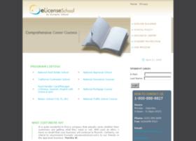 elicenseschool.com