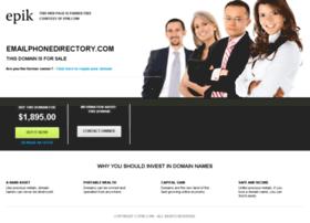 emailphonedirectory.com