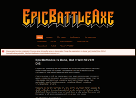 epicbattleaxe.com