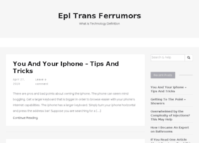 epltransferrumors.com