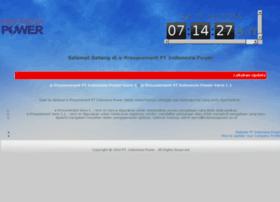 Eproc.indonesiapower.co.id
