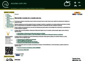 Escolar.com.mx