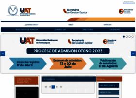 Escolares.uat.edu.mx
