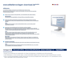 Etikettenvorlagen-download.de