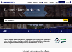 europeregistry.com