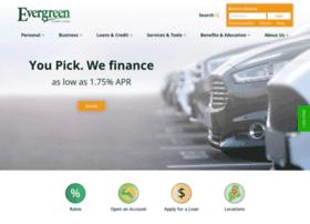 evergreencreditunion.org