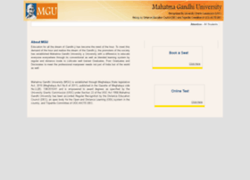 Examination.mgu.edu.in