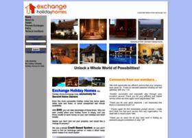 exchangeholidayhomes.com