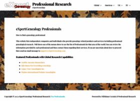Expertgenealogy.com