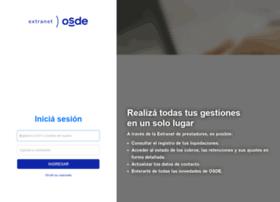 Extranetprofesionales.osde.com.ar