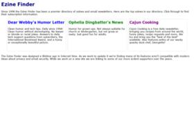 ezinefinder.com