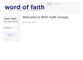 Faithgroups.woficc.com