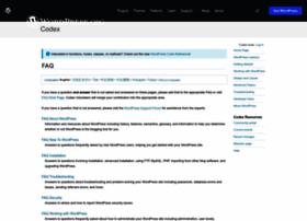 faq.wordpress.net