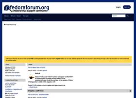 fedoraforum.org