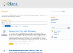 feedback.dzone.com