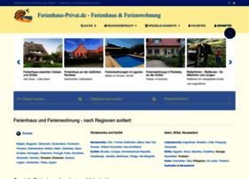 ferienhaus-privat.de