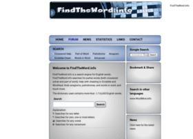 findtheword.info