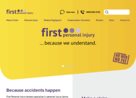 firstpersonalinjury.co.uk