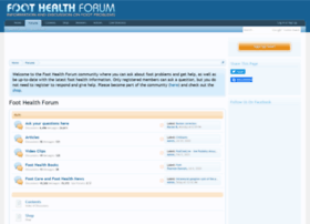 foot-health-forum.com