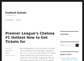 footballdebate.com