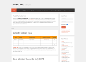 Footballtipsfootballpicks.com