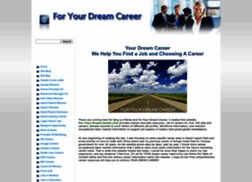 for-your-dream-career.com