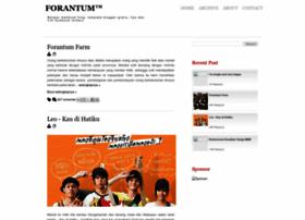 forantum.blogspot.com