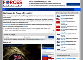 forcesreunited.org.uk