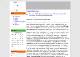 Foreclosurelistingsbh.mobilblogg.no