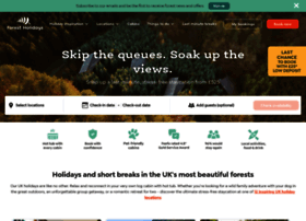 forestholidays.co.uk
