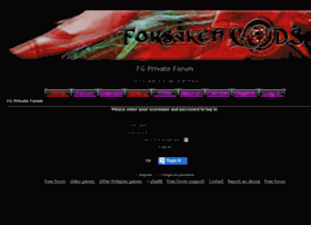 forsakengodsprivate.forum-motion.com