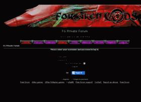 forsakengodsprivate.forum-motion.com