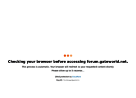 Forum.gateworld.net