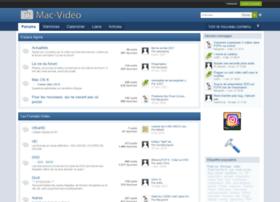 forum.mac-video.fr