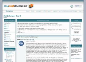forum.mysqldumper.de