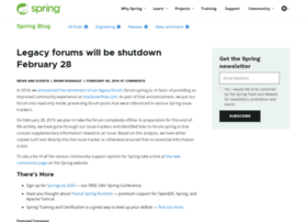 forum.springsource.org