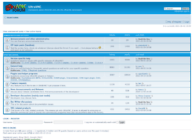 forum.ultravnc.info