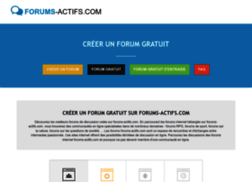 forums-actifs.com