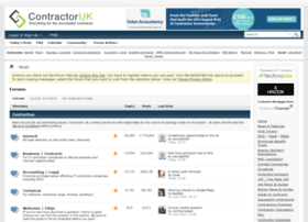 Forums.contractoruk.com