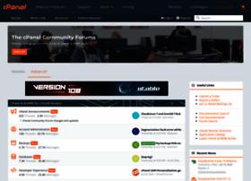 forums.cpanel.net