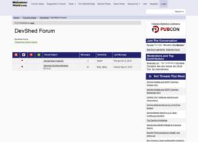 Forums.devshed.com