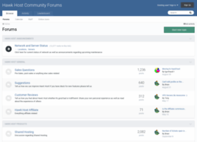 forums.hawkhost.com