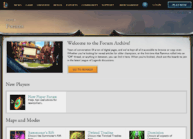 forums.leagueoflegends.com