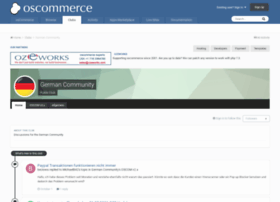 forums.oscommerce.de