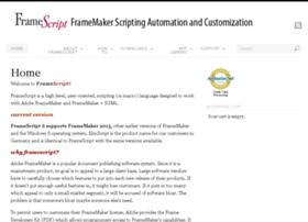 framescript.com