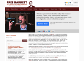 freebarrettbrown.org
