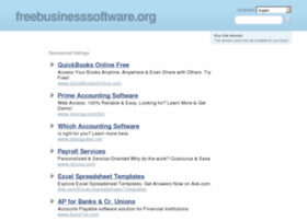 freebusinesssoftware.org