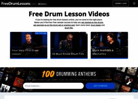 freedrumlessons.com